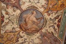 A particular of a fresco.