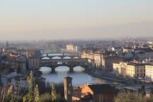 Florence, the famous Ponte Vecchio.