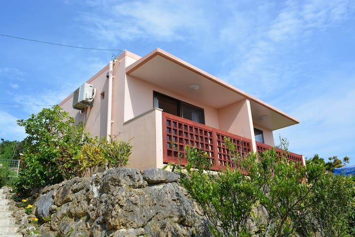 美ら海水族館近く癒しの空間「ベルモトブ」緑の部屋 - Motobu-chō - Byt