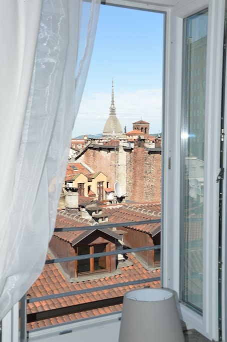 Panorama dalla camera da letto LA MOLE
