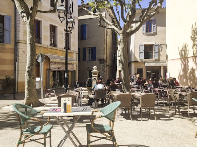 beautiful flat Historic Center - Manosque - Appartement