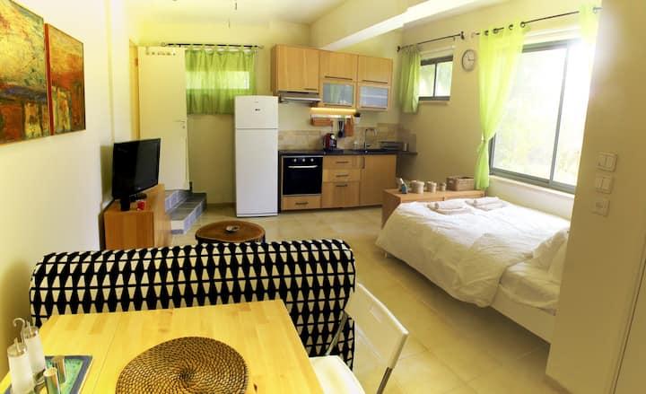 Comfortable Studio Apartment, Garden & Fields view