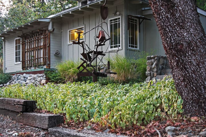 NEW! 2BR Junction City House w/Creek Views!