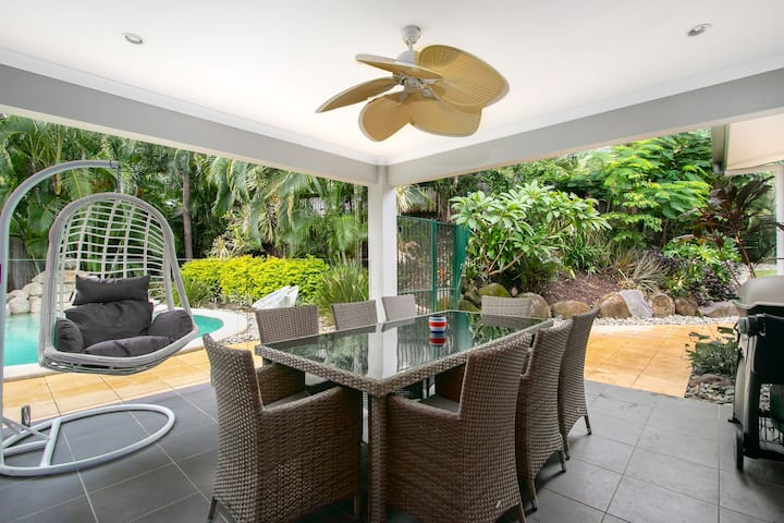 Aurelia -Tropical Pool -Only 1km to the Beach