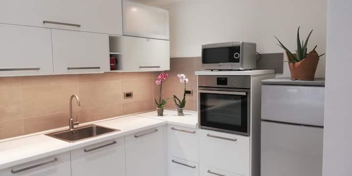 Appartamento max 3 persone con cucina