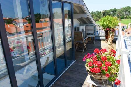 Loft centre ville vue mer terrasse - Biarritz - Loft