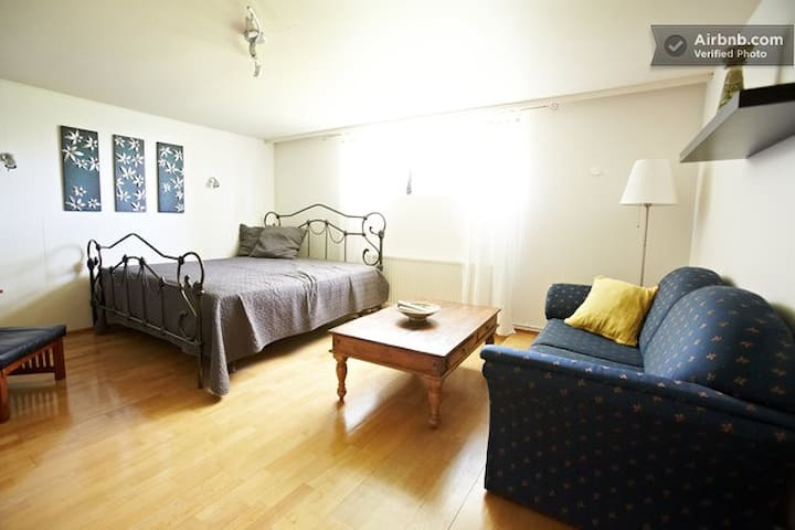 A Cosy Big Room for up to 4 people - Reykjavik - Hus