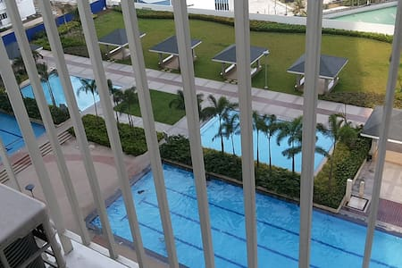 Condo with Great View of Pool Area & Amenities - Mandaluyong City