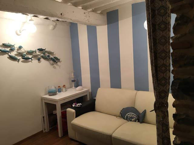 Portovenere Fezzano vista mare - Fezzano - Appartement