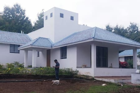 Farmhouse enclosed by Forest all modern amenities