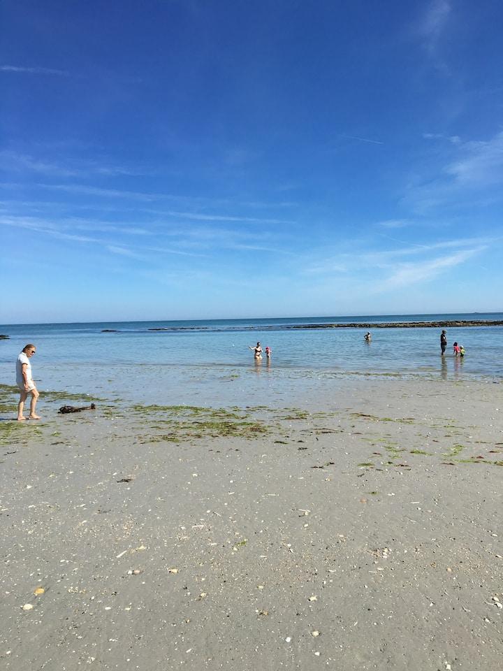 T2 duplex Ile-tudy 150m de la plage proche QUIMPER
