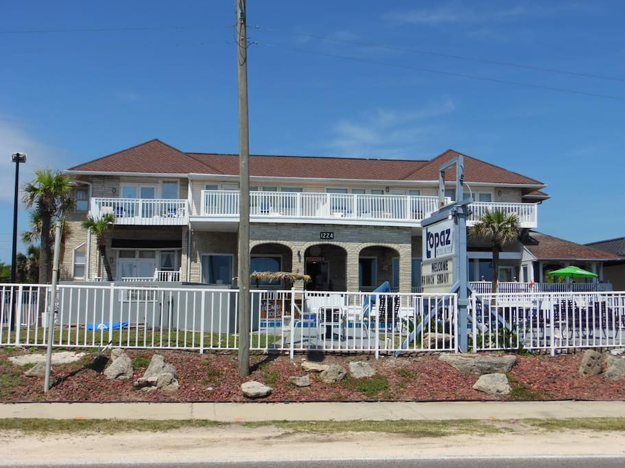 The Topaz Motel of Flagler Beach!