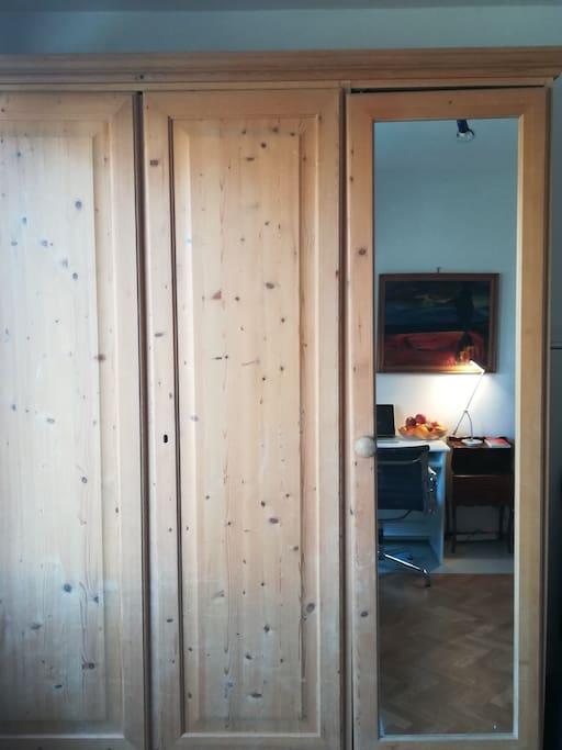 huge wardrobe