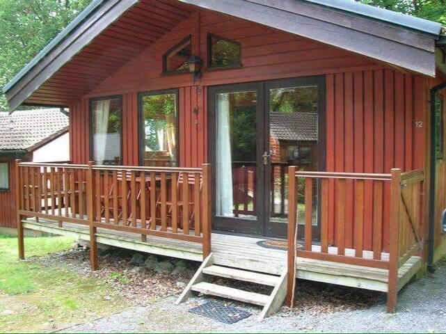 West Wales Woodland Lodge