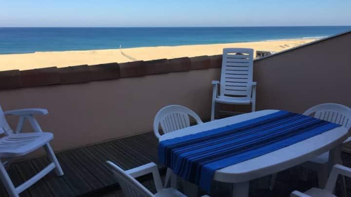 Appartement vue sur océan