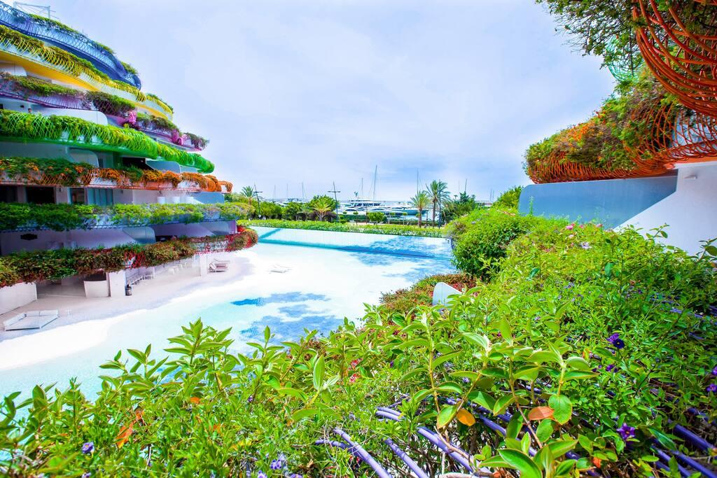 Las boas luxury apartment 2r 2 apartamentos en alquiler for Gimnasio illes