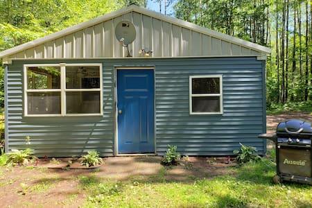 Quiet cabin in the woods