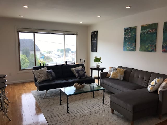 3 bd house steps from beach,5min to GoldenGatePark