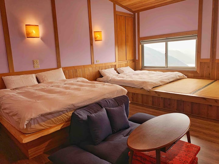 Lake View Japanese Style Quadruple room