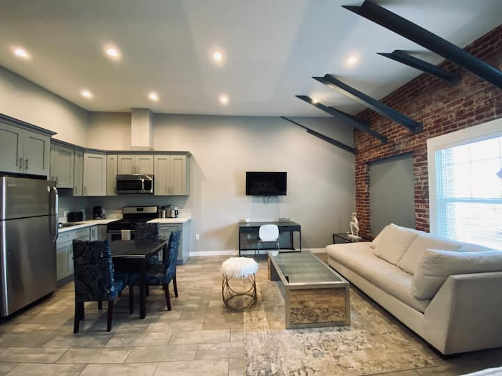 Brick wall studio loft in Hollywood