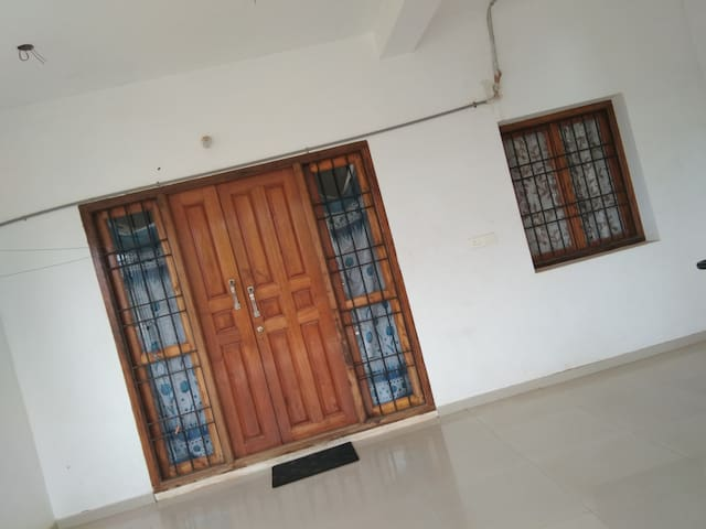 2 BHK with 1 AC at Auroville entrance- First Floor
