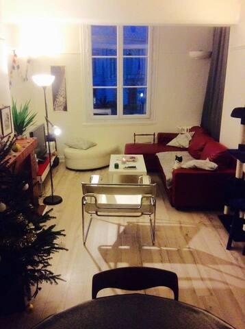 Grande chambre privée appart 100m2 hyper centre - Montpellier - Apartment