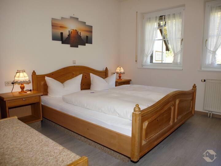 Hotel Landgasthaus Kurz, (Todtnau), Appartement, 44qm, 1 Schlafzimmer, max. 4 Personen