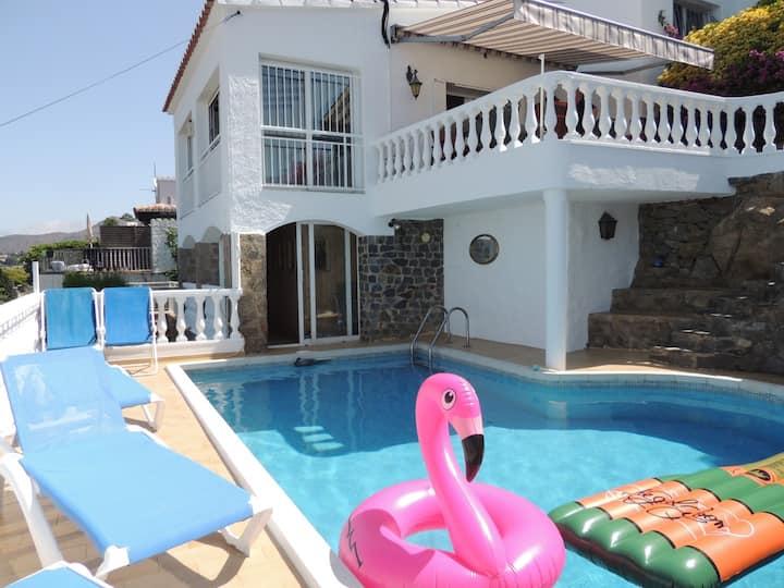 Villa en Roses con piscina privada y sauna