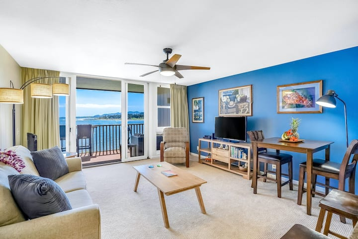 Coastal Oasis on the Beach W/ Shared Pool, Ocean View, Private Balcony & WiFi!