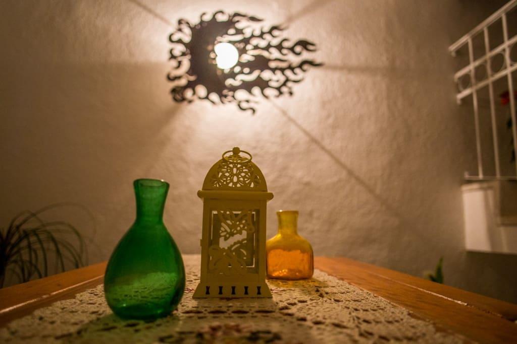 Detalles de artesania mexicana