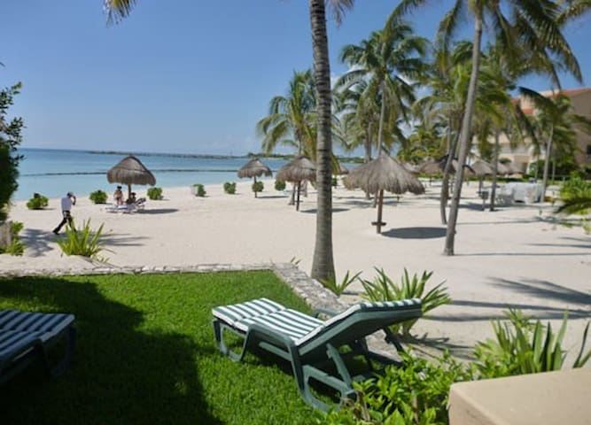 BEACHFRONT VILLA IN WHITESAND JADE WATER BAY - Puerto Aventuras - Villa