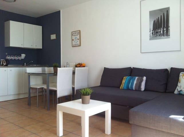 Bonito apartamento de playa