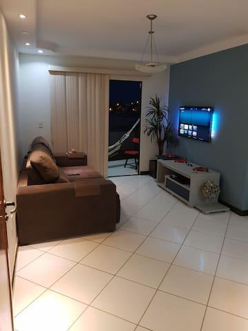 Apartamento/flat completo vista panorâmica.