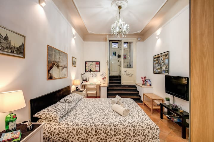 Your home in Rome-charming apt for couples-Coppedè