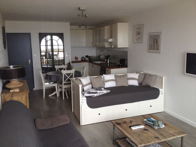 Studio raffiné face à la mer 4 pers - Saint-Jean-de-Monts - Appartement