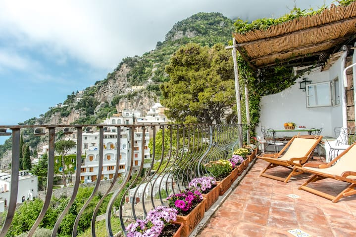 Charming sea view apt - Positano