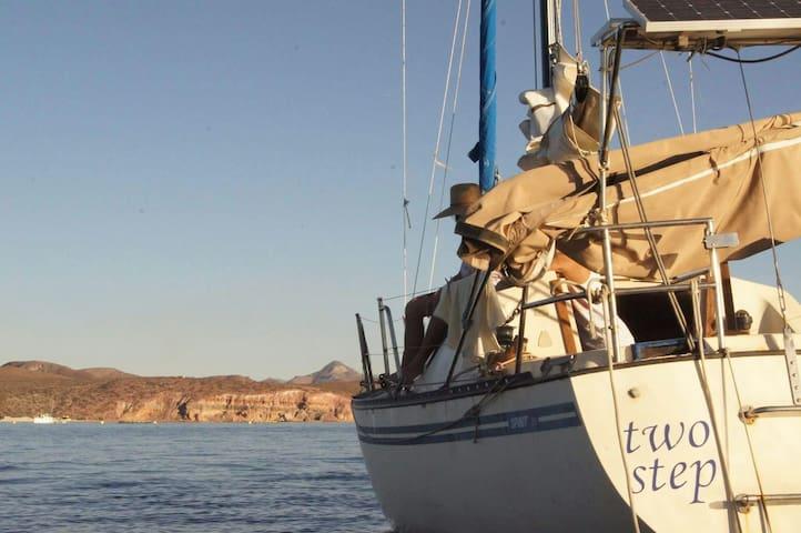 Sailboat in the heart of la Paz - La Paz - Boot