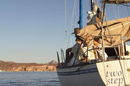Sailboat in the heart of la Paz - La Paz - Kapal