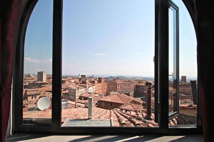 The highest wonderful view in Siena