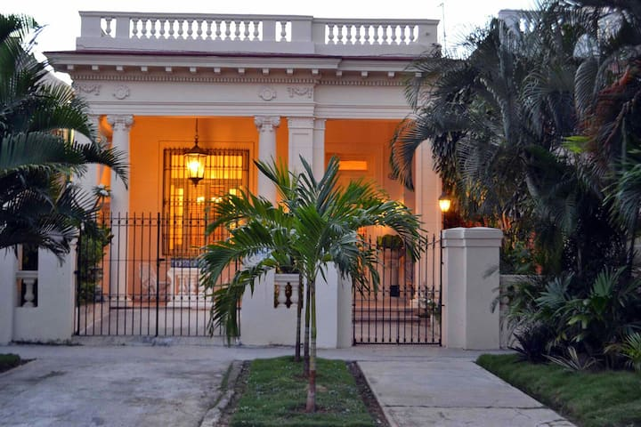 Stylish Spanish Mansion in Havana