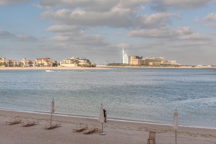The Best Apartment with a private beach in Dubai