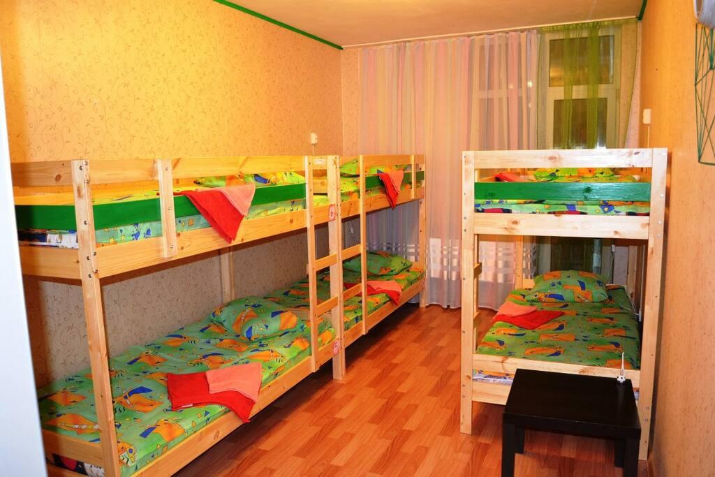 Комната с отдельной лоджией