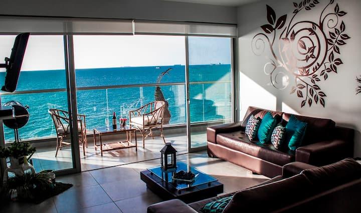 Ocean View Apartment Paracas Peru