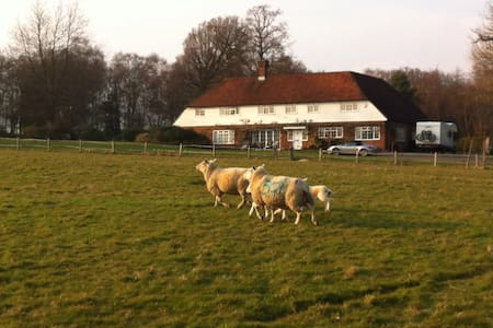 Country house with pool and tennis - Uckfield  - Hus