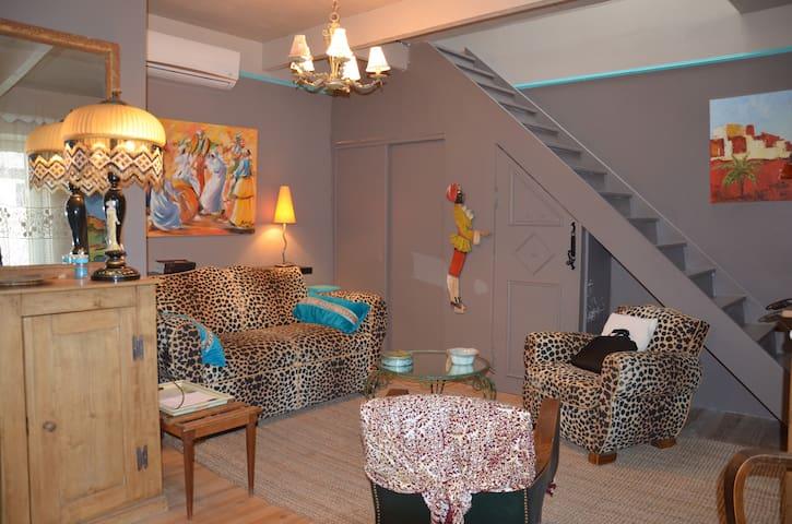 Belle maison de village atypique - Camaret-sur-Aigues