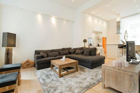 Duplex 160m² with sauna & piano