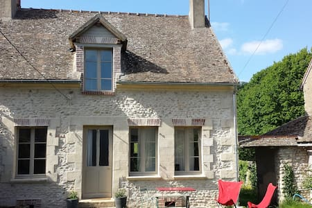 Vexin : Maison de village proche de Giverny - Boury-en-Vexin - Casa