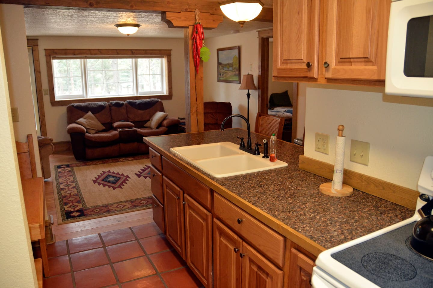 Stonewall View Cabins - Comfortable and cozy, with full kitchen.