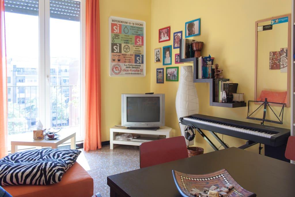 Stanza, room