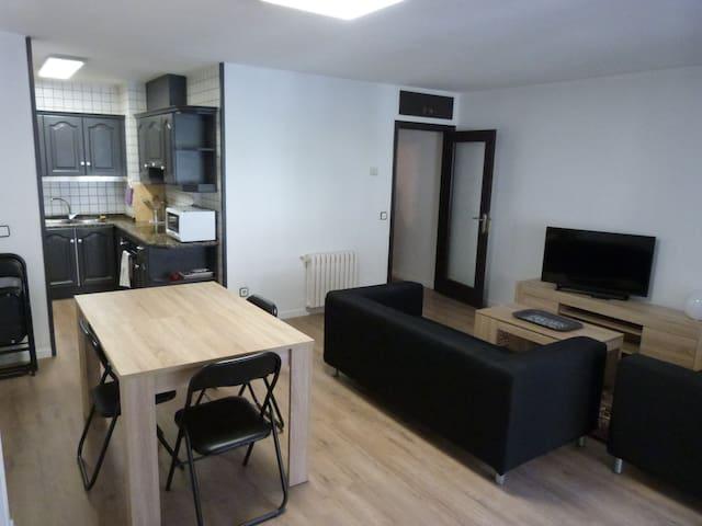apartment 4 adults, 2 bedrooms, Encamp, hut5662